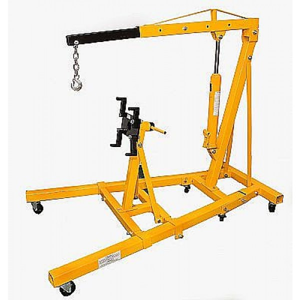 Engine Crane Foldable With Engine Stand  WTEC2/ST