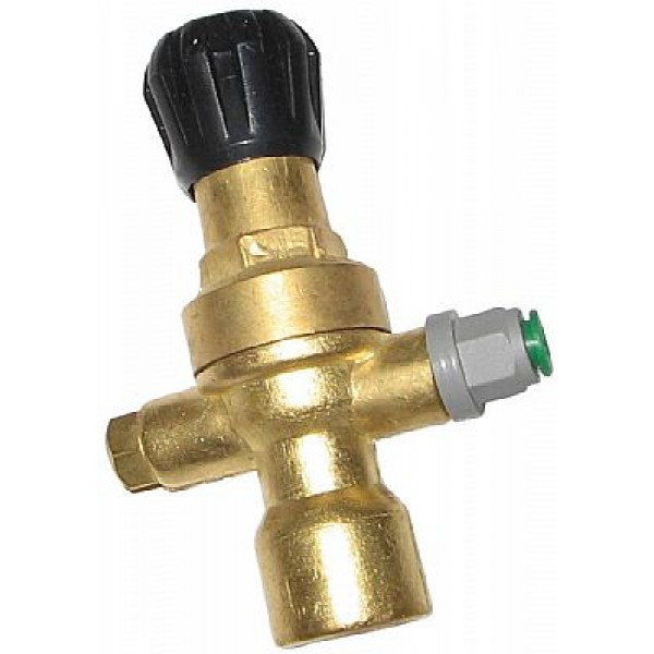 Welder Gas Regulator Brass Euro 3  WTW40100