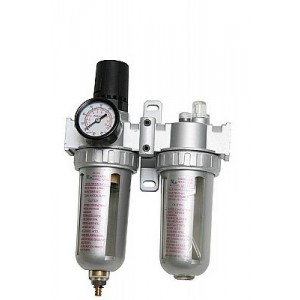 Air Regulator Twin W/Water Trap   WT85001