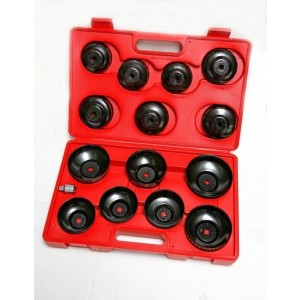Oil filter wrench set 14pc  cup type WTHS1245